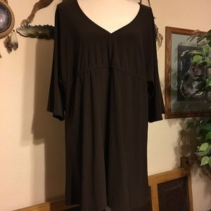 Antthony brown tunic top NWOT XL